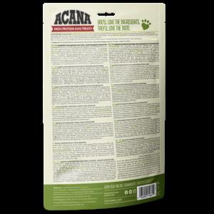 ACANA High Protein Treats Crunchy Pork Liver Recipe Back Right 100g